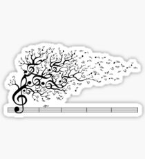 The Sound of Nature In Motion Sticker