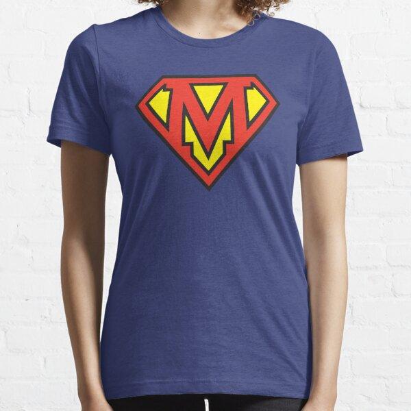 Super Initials Tee - M Essential T-Shirt