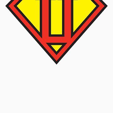 Super Initials Tee - U by NerdUniversitee