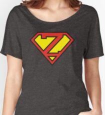 Super Initials Tee - Z Women's Relaxed Fit T-Shirt
