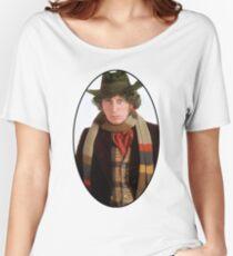 Tom Baker (4th Doctor) Women's Relaxed Fit T-Shirt