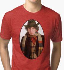 Tom Baker (4th Doctor) Tri-blend T-Shirt