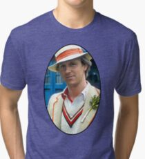 Peter Davison (5th Doctor) Tri-blend T-Shirt