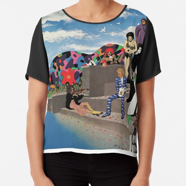 Around the World in a Day Chiffon Top