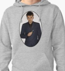 David Tennant (10th Doctor) Pullover Hoodie