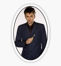 David Tennant (10th Doctor) Sticker