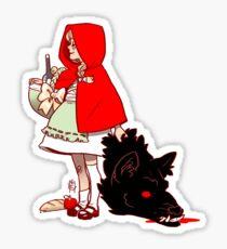 Little Red Hood Sticker