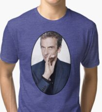 Peter Capaldi (12th Doctor) Tri-blend T-Shirt