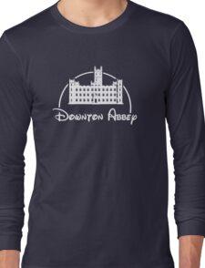 Downton Abbey / Disney //all white artwork// Long Sleeve T-Shirt