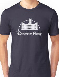 Downton Abbey / Disney //all white artwork// Unisex T-Shirt