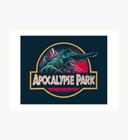 Apocalypse Park Art Print