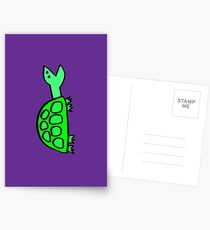 Stock Tip Tortoise iphone cover Postcards