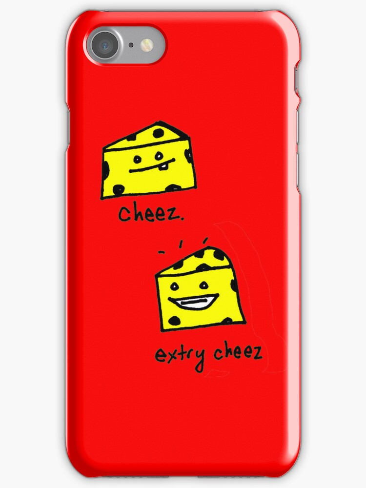 cheez. extry cheez! by Ollie Brock