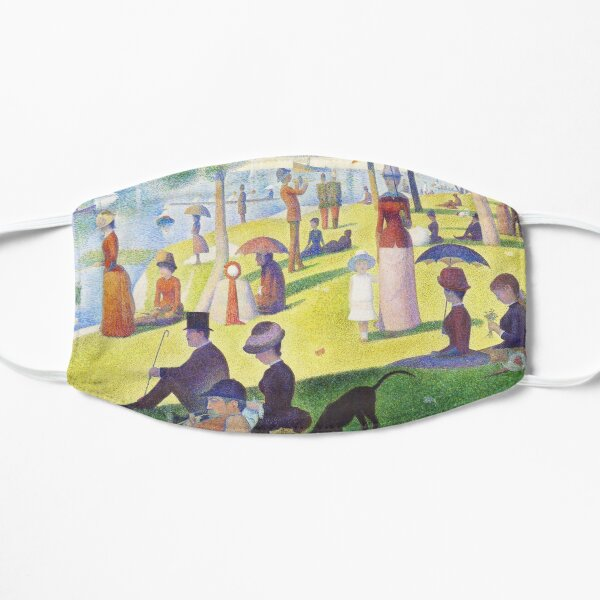A Sunday Afternoon on La Grande Jatte - Georges Seurat Mask
