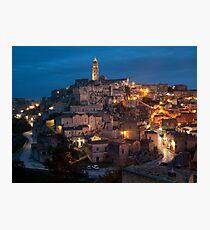 Sassi di Matera, Italy Photographic Print