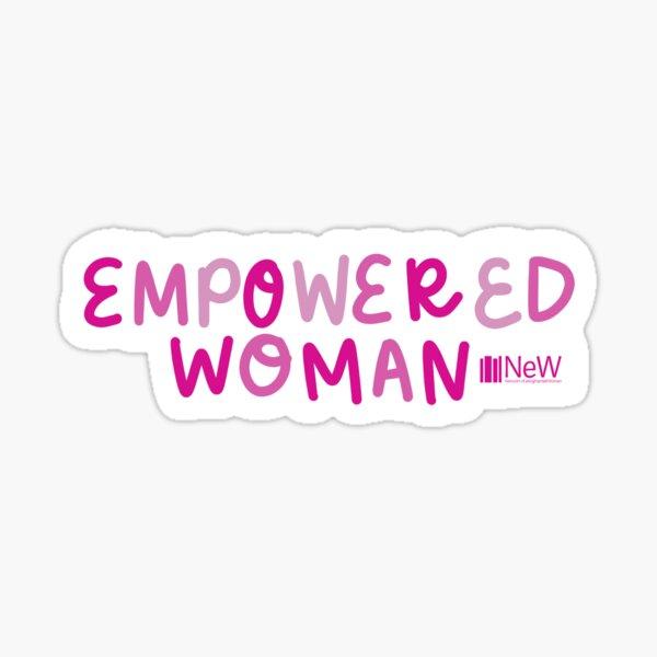 Empowered Woman  Sticker