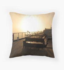 Golden Dawn Aboard The ms Westerdam Throw Pillow