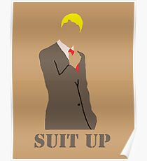 Suit Up Poster