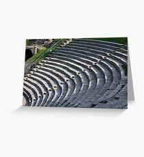 Fiesole Roman Amphitheater Greeting Card