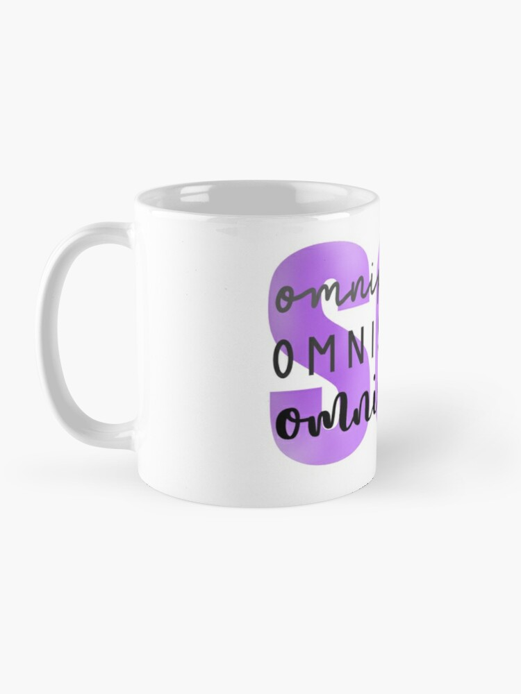 Alternate view of SCL Omnipotent, Omniscient, Omnipresent Mug