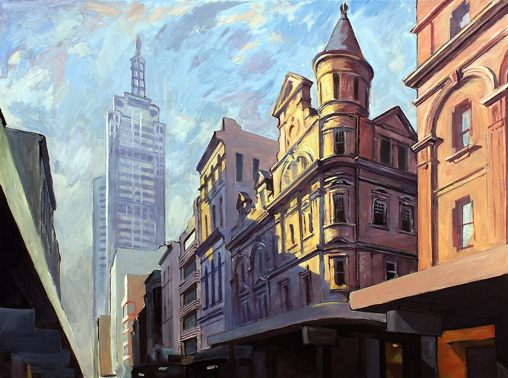 Little Collins Street, Melbourne by Peter Roccella