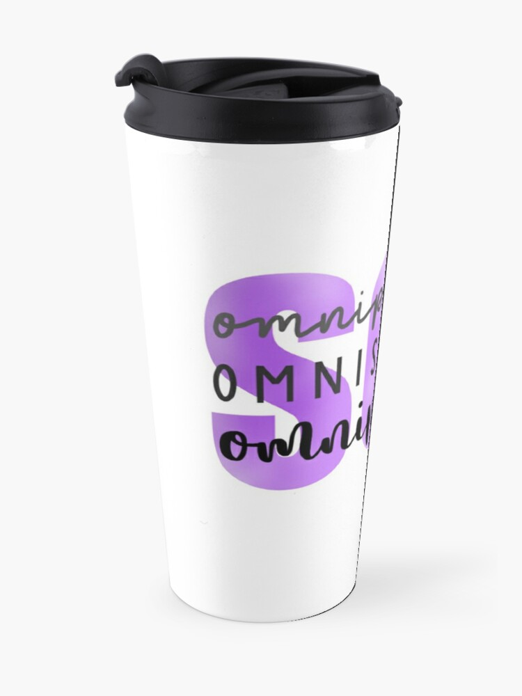 Alternate view of SCL Omnipotent, Omniscient, Omnipresent Travel Mug