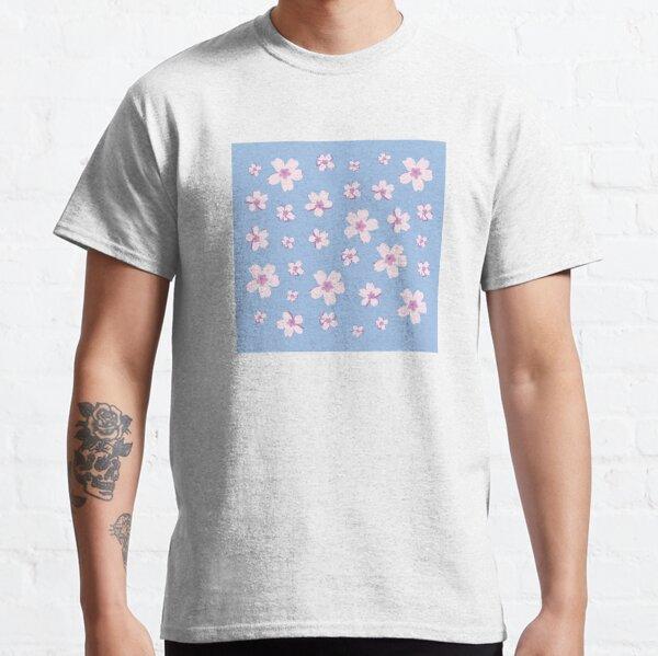 Portuguese Flowers Pattern - Pastel Colors Classic T-Shirt