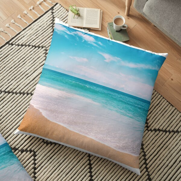 Tropical Vacation Floor Pillow