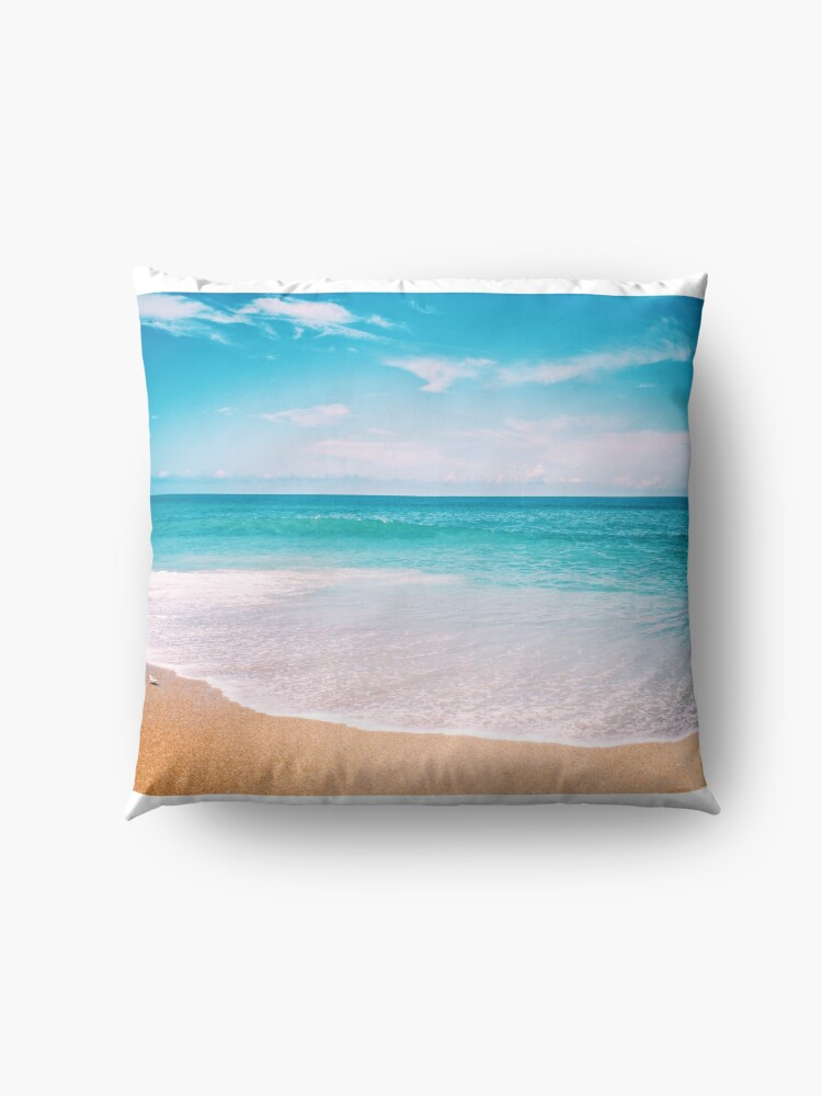 Alternate view of Tropical Vacation Floor Pillow
