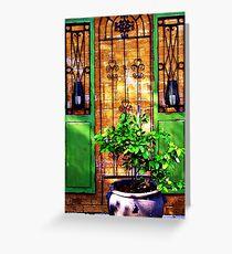 Doors & more... Greeting Card