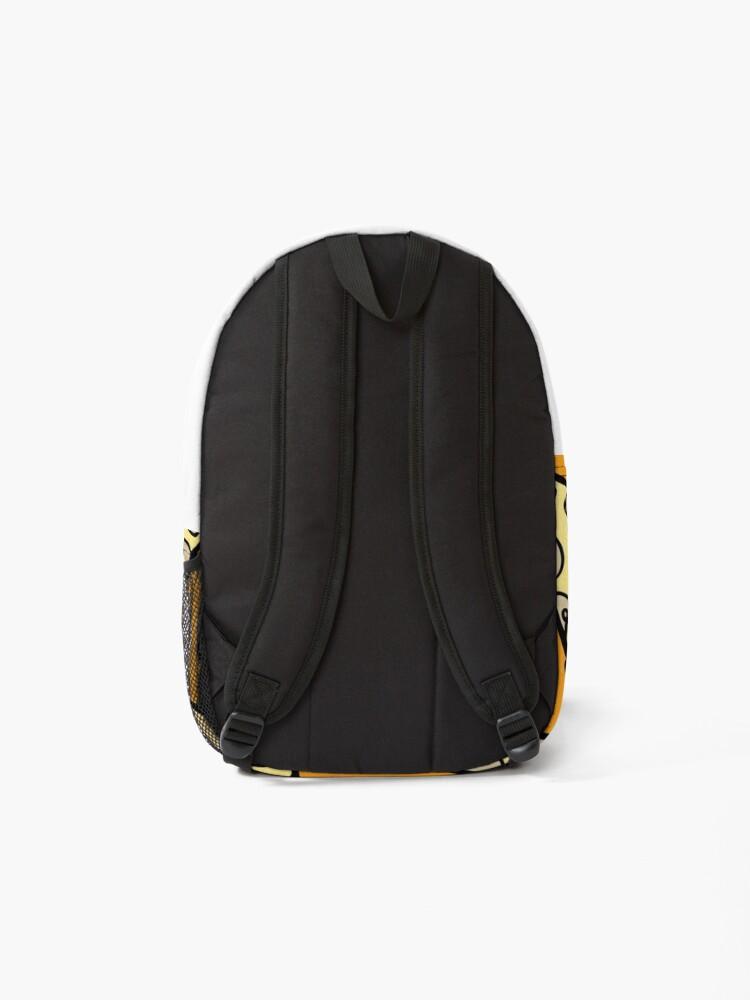Alternate view of Mushroom Pizza Pattern Backpack