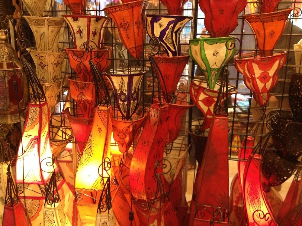 Lamps in La Mancha by JaxHarumm