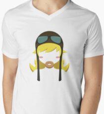 Shinobu Men's V-Neck T-Shirt