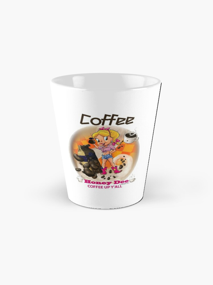 Alternate view of Coffee Up Y'all With Honey Dee Mug