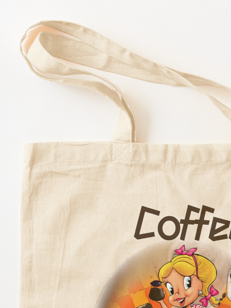 Alternate view of Coffee Up Y'all With Honey Dee Tote Bag