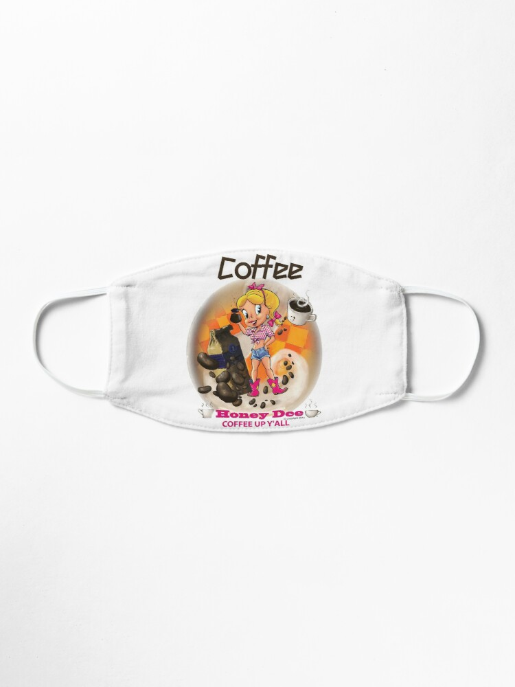 Alternate view of Coffee Up Y'all With Honey Dee Mask