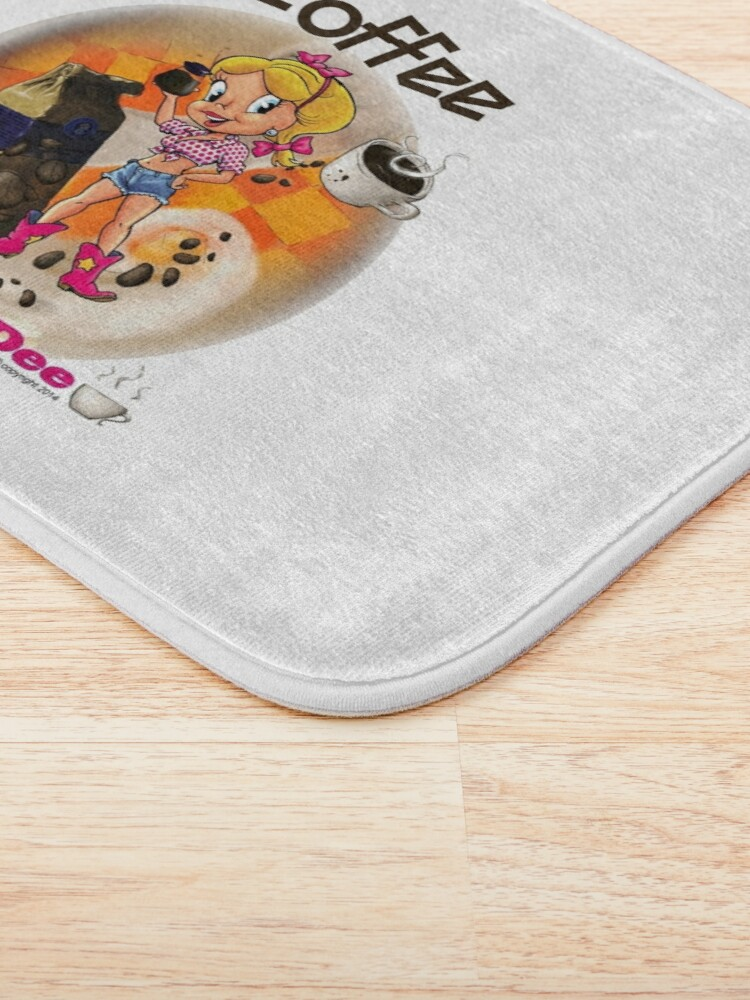 Alternate view of Coffee Up Y'all With Honey Dee Bath Mat