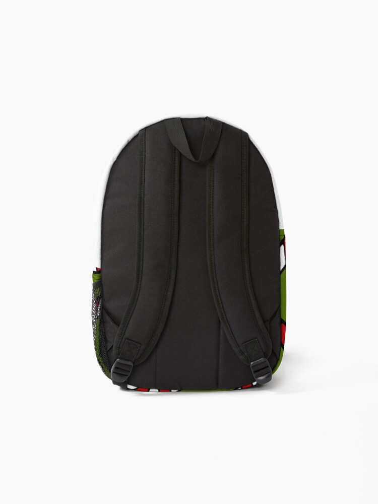 Alternate view of Candy Cane Pattern Backpack