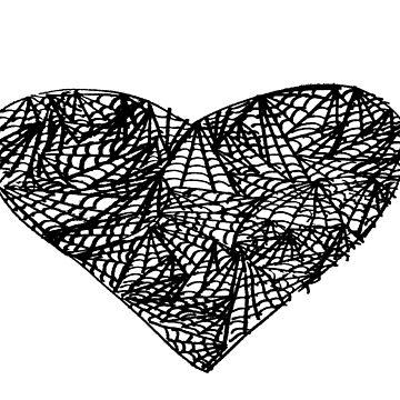 Spider Love by crazydesigner12