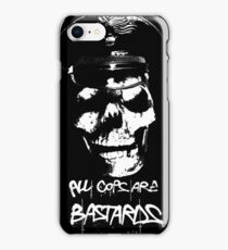 """ACAB """"ALL COPS ARE BASTARDS"""" T-SHIRT iPhone Case/Skin"""
