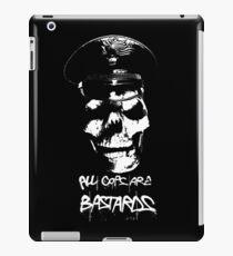 "ACAB ""ALL COPS ARE BASTARDS"" T-SHIRT iPad Case/Skin"