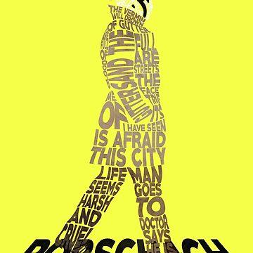 Watchmen - Rorschach Typography by RellikJoin