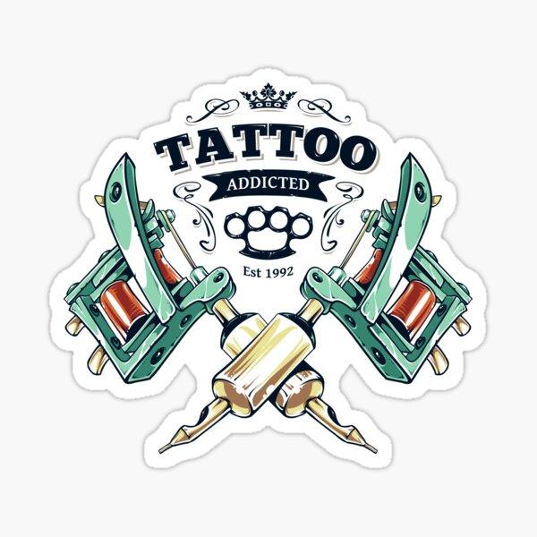 Tattoo Addicted  Sticker