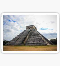 El Castillo - The Pyramid of Chichen Itza Sticker