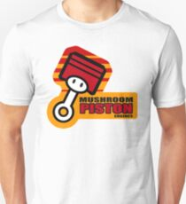 Mario Kart 8 Mushroom Piston Engines - Square T-Shirt