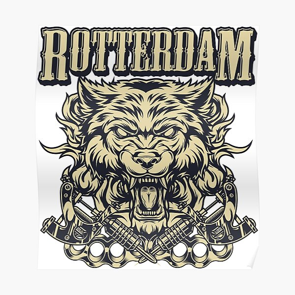 Rotterdame T-Shirt Poster