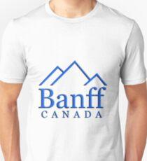Banff Alberta Canada Logo Unisex T-Shirt