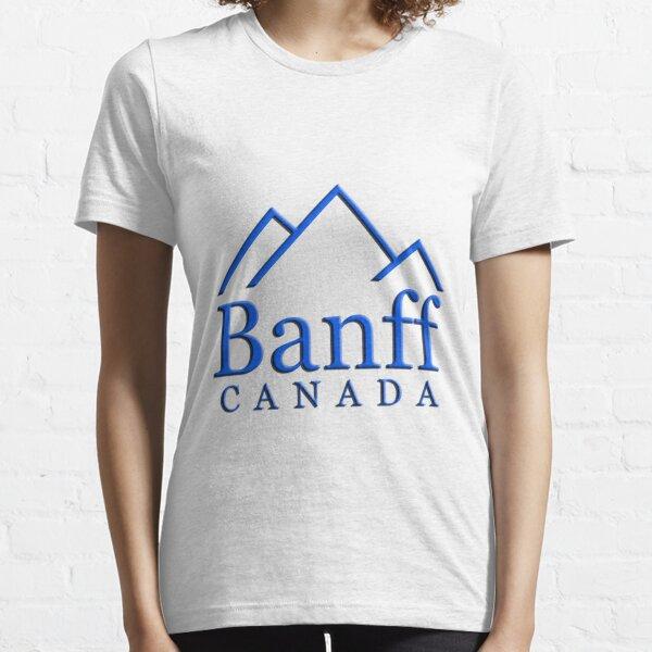 Banff Alberta Canada Logo Essential T-Shirt