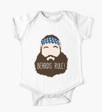 Beards Rule One Piece - Short Sleeve
