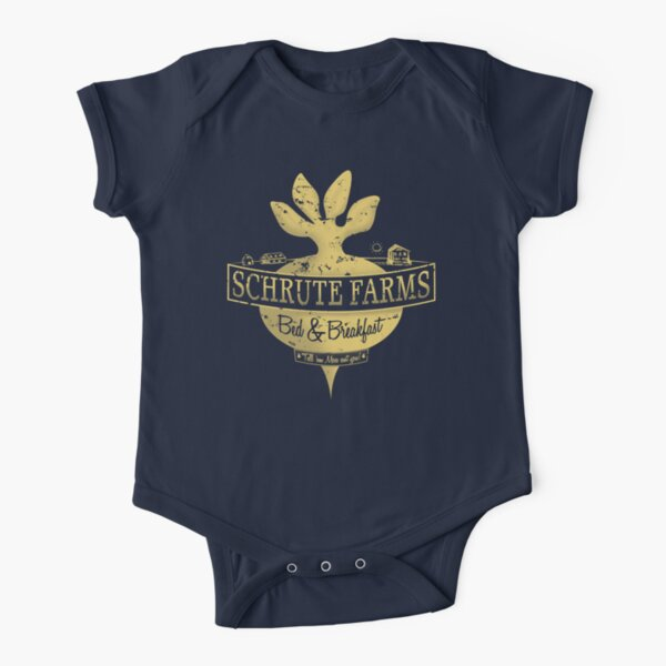Schrute Farms (Special Mose edition!) Short Sleeve Baby One-Piece